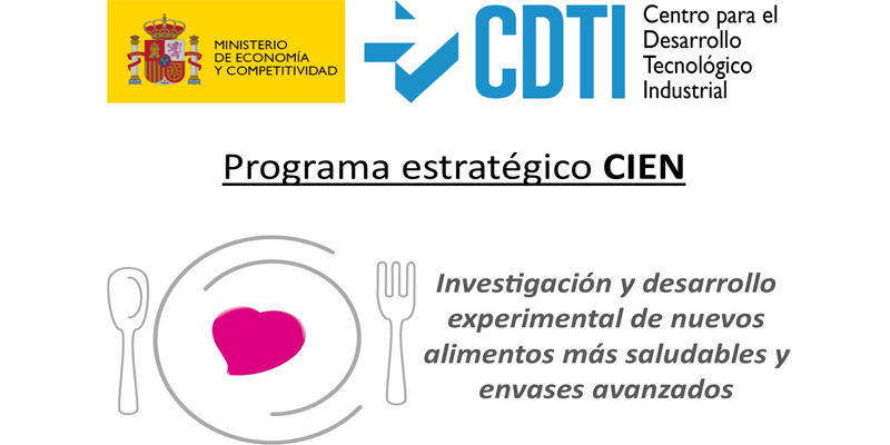 """Experimental Research and Development of New, Healthier Foods and Advanced Packages"" of the strategic program ""CIEN."""