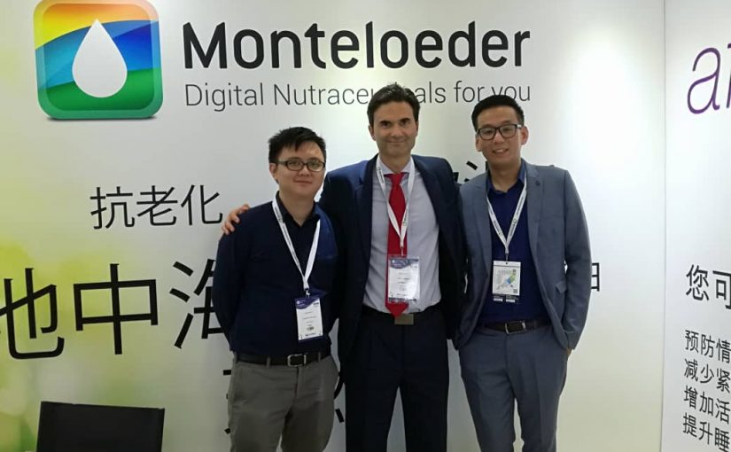 Monteloeder at Health Ingredients China