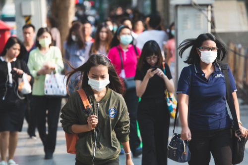 Pollution is becoming a serious problem in Asia